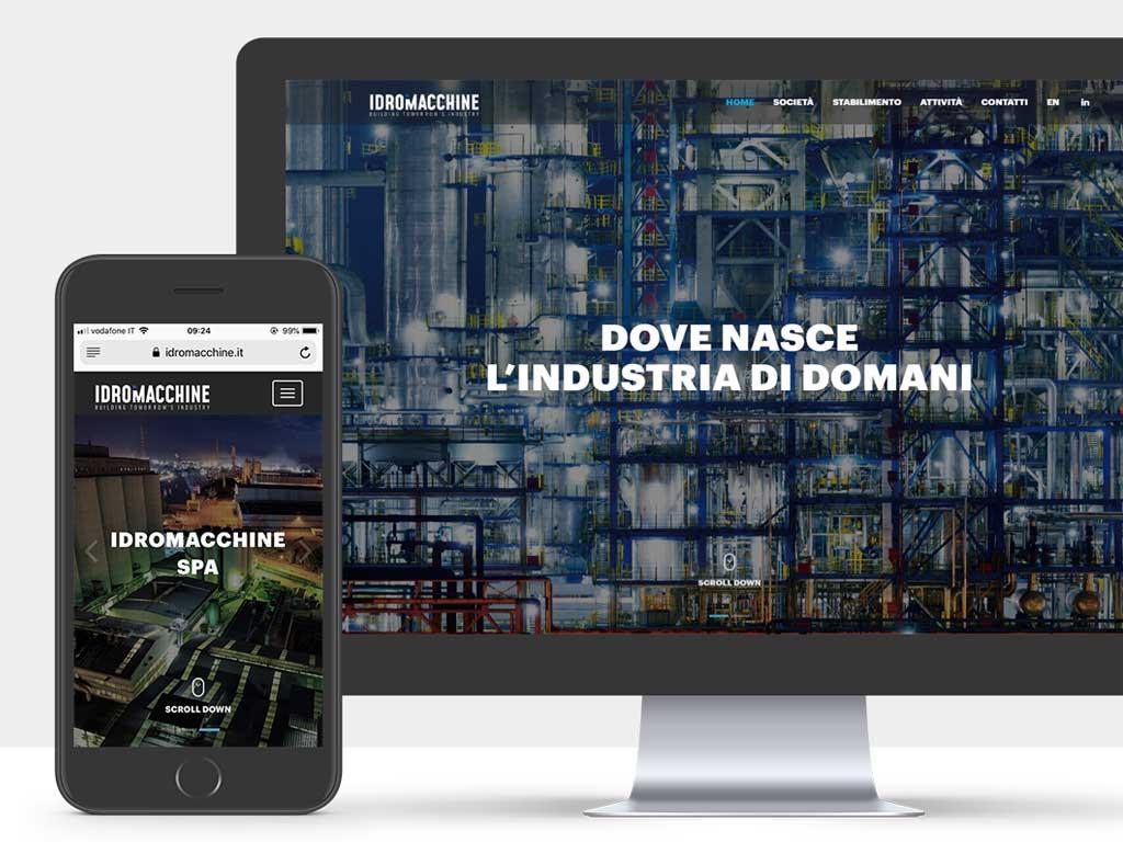 Idromacchine website