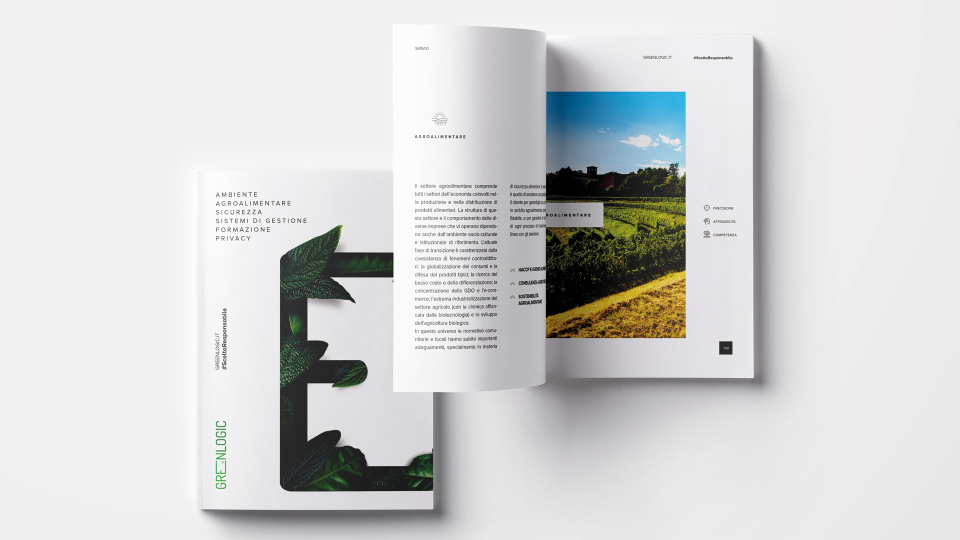 Restyling company profile Greenlogic
