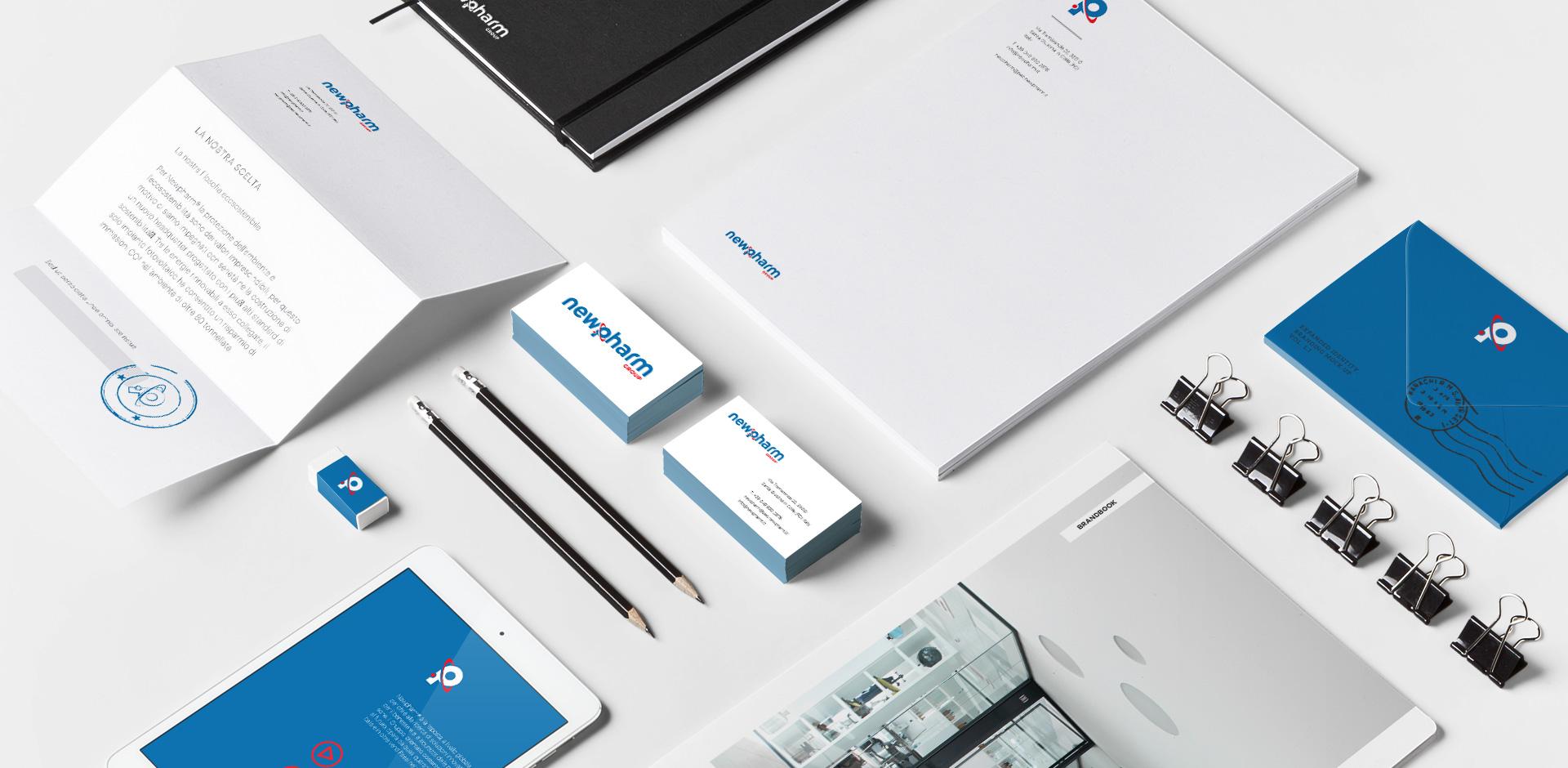 restyling brand e logo Newpharm